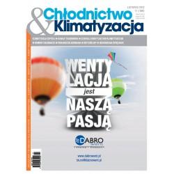 Chłodnictwo&Klimatyzacja 11/2012