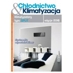 Katalog Klimatyzatorów typu SPLIT edycja 2016 + Chłodnictwo & Klimatyzacja 5/2016