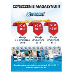 Rocznik 2015 - Chłodnictwo & Klimatyzacja - wersja drukowana