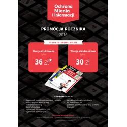 Rocznik 2016 - Ochrona Mienia i Informacji ( drukowany)
