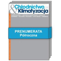 Prenumerata półroczna - Chłodnictwo & Klimatyzacja