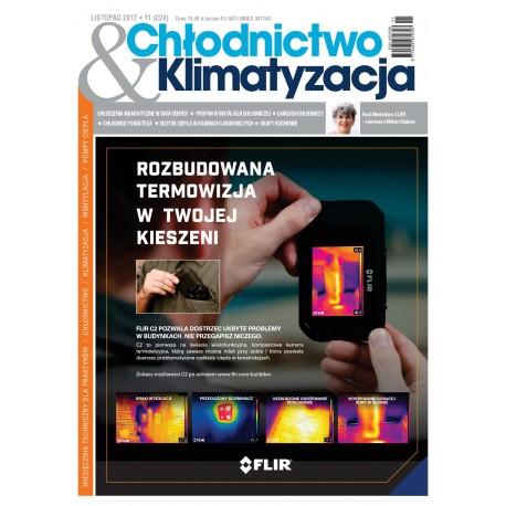 Numer 11/2017 Chłodnictwo & Klimatyzacja