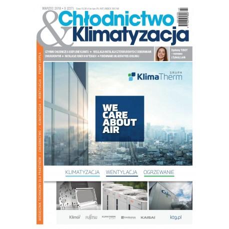 Numer 3/2018 Chłodnictwo & Klimatyzacja