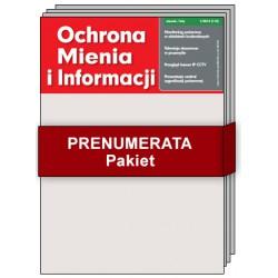 Pakiet Ochrona Mienia i Informacji - Prenumerata papierowa + elektroniczna