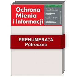 Prenumerata Półroczna - Ochrona Mienia i Informacji