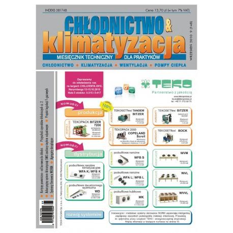 Chłodnictwo&Klimatyzacja 9/2010
