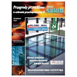 Przegrody przeszklone w ochronie przeciwpożarowej II + Świat Szkła 7-8/2014