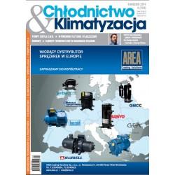 Numer 4/2014 - Chłodnictwo&Klimatyzacja