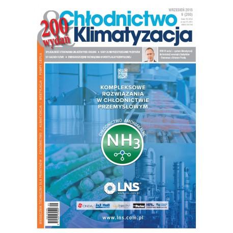 Numer 9/2015 - Chłodnictwo & Klimatyzacja
