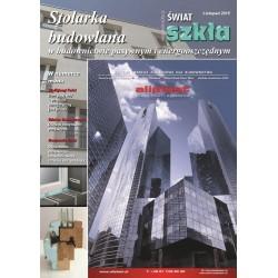 Stolarka budowlana w budownictwie pasywnym i energooszczędnym + Świat Szkła 11/2015