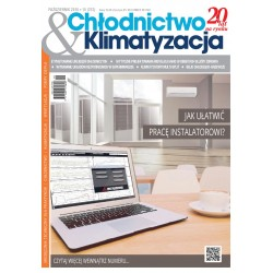 Numer 10/2016 - Chłodnictwo & Klimatyzacja