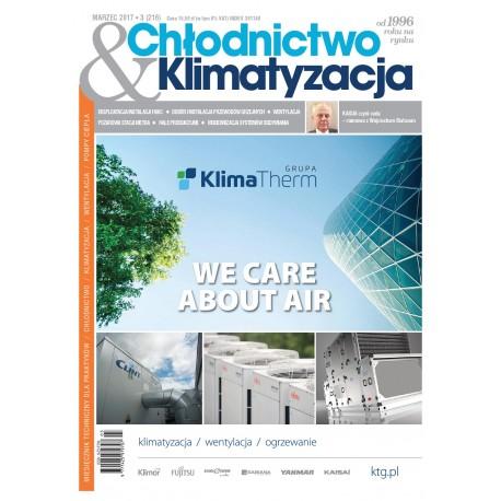 Numer 3/2017 Chłodnictwo & Klimatyzacja
