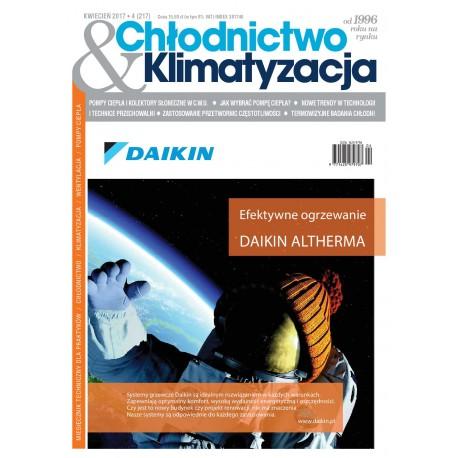Numer 4/2017 Chłodnictwo & Klimatyzacja