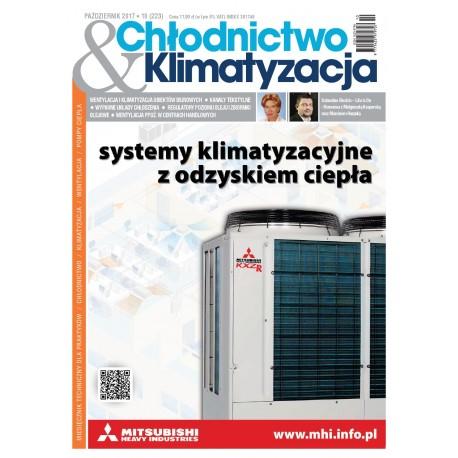 Numer 10/2017 Chłodnictwo & Klimatyzacja