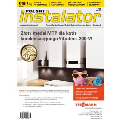 Numer 5/2016 Polski Instalator