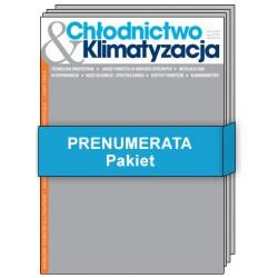 Pakiet Chłodnictwo & Klimatyzacja- Prenumerata papierowa + elektroniczna