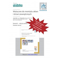 Instrukcja IFT - Wytyczne do montażu okien i drzwi zewnętrznych