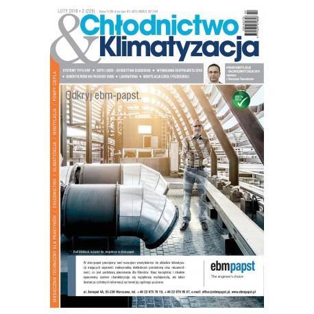 Numer 2/2018 Chłodnictwo & Klimatyzacja