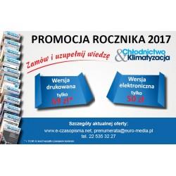 Rocznik 2017 - Chłodnictwo & Klimatyzacja - wersja elektroniczna