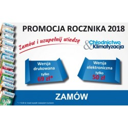 Rocznik 2018 - Chłodnictwo & Klimatyzacja - wersja drukowana