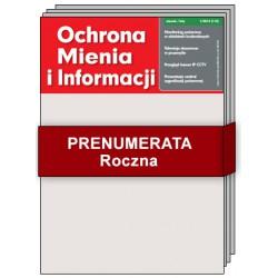 Prenumerata Roczna - Ochrona Mienia i Informacji