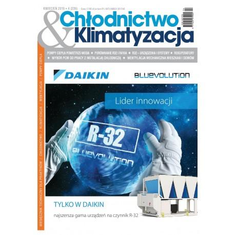 Numer 4/2019 Chłodnictwo & Klimatyzacja
