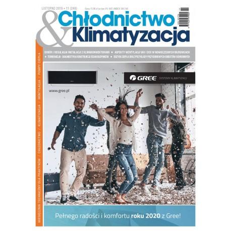 Numer 11/2019 Chłodnictwo & Klimatyzacja