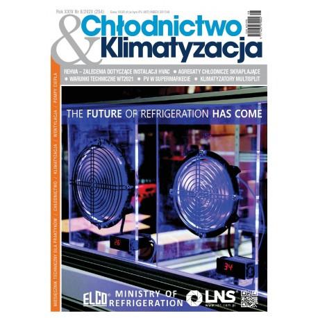 Numer 8/2020 Chłodnictwo & Klimatyzacja