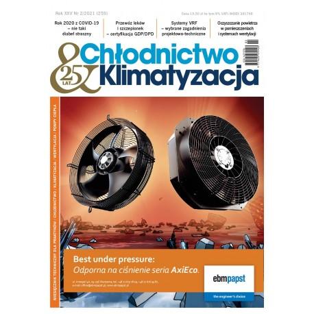 Numer 02/2021 Chłodnictwo & Klimatyzacja