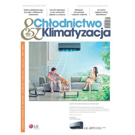 Numer 07/2021 Chłodnictwo & Klimatyzacja