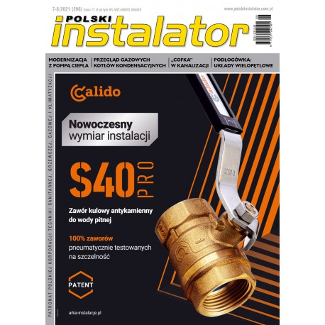 Numer 7-8/2021 Polski Instalator
