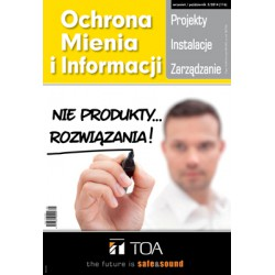 Numer 5/2014 - Ochrona Mienia i Informacji